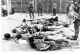 印尼大屠杀图片少女,中国为什么不出兵印尼,印尼屠杀华人事件始末