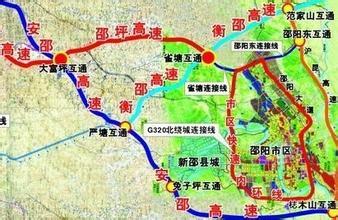 邵阳高铁2015年开通,邵阳高铁新城规划图所带来的效益