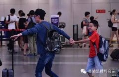 何炅11岁儿子近照曝光, 揭何炅与妻子王菁隐婚十余年不结婚内幕