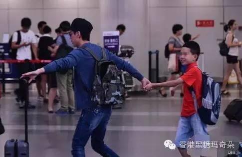 何炅11岁儿子近照曝光, 揭何炅与妻子王菁隐婚十余年不结婚内幕(2)