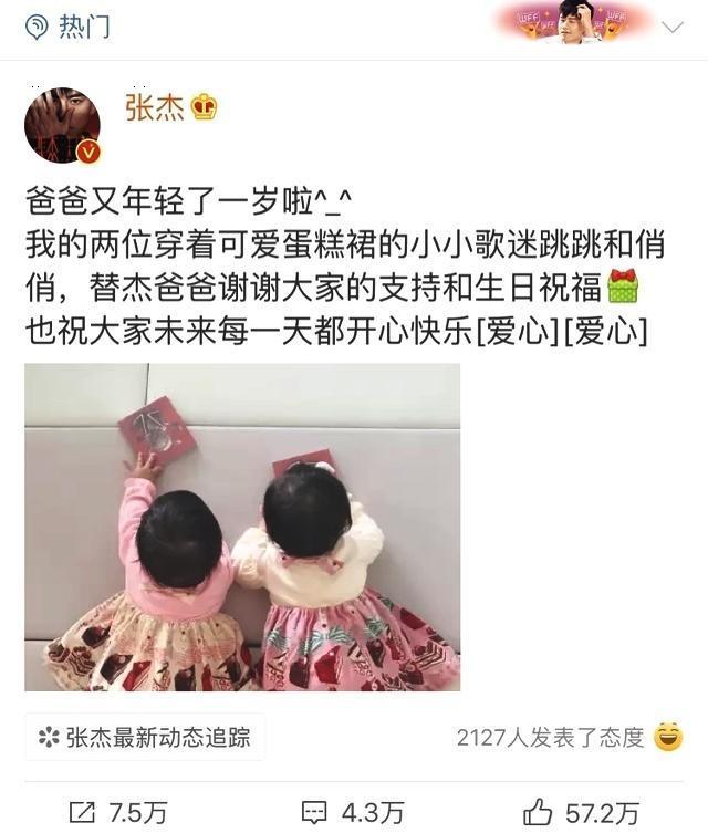 张杰双胞胎女儿叫什么名字,张杰谢娜女儿照片曝光