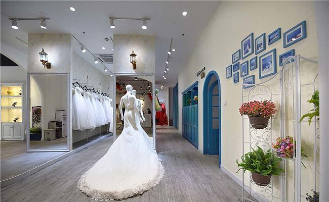 小型婚纱摄影店装修效果